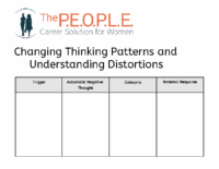 Changing Thinking Patterns